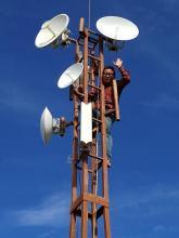 दिप्रुङ चुइचुम्मा गाँउपालिका को राजापानी स्थीत मेन रिपिटर टावर